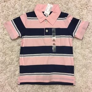 NWT! Children's Place Cotton Polo Shirt - 3T